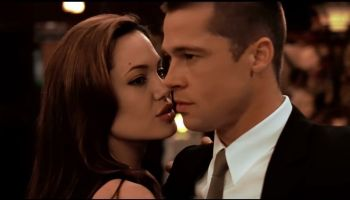 Brad Pitt and Angelina Jolie in Mr. & Mrs. Smith (2005)