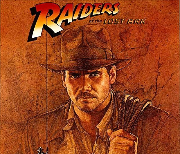 Harrison Ford in Raiders of the Lost Ark (1981) Poster © 1981 - Lucasfilm, Ltd.
