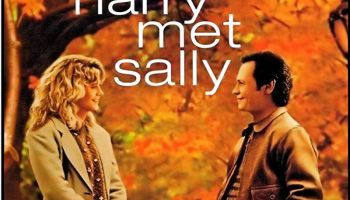 Meg Ryan and Billy Crystal in When Harry Met Sally... (1989) Poster